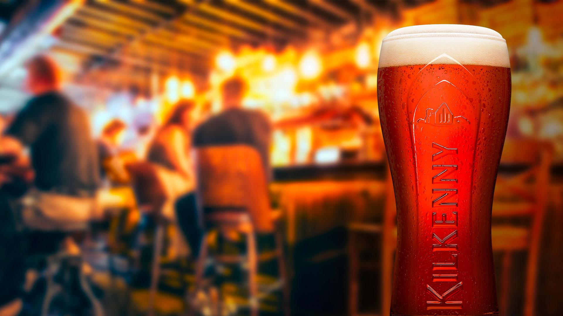 Birra rossa classica Irlandese